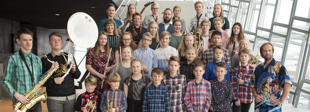 Blásarasveit tónlistarskóla Ísafjarðar