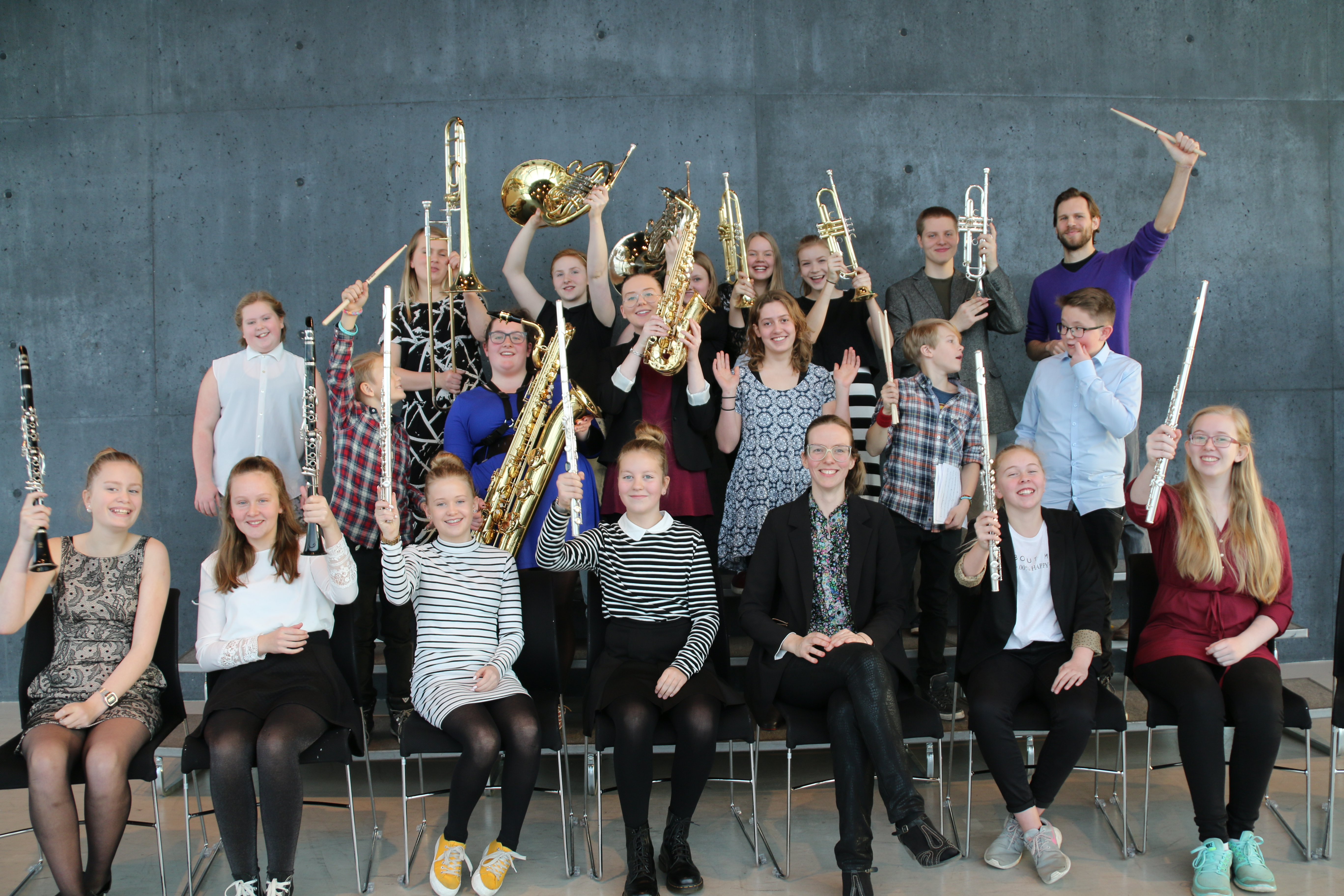 Blásarasveit Tónlistarskólans á Akureyri